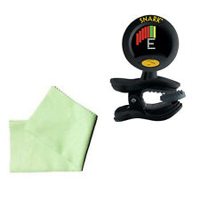 Trombone Tuner Pack - Snark SN8 Super Tight & Cleaning Cloth