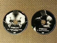 2 - P90X DVDs #9 Chest, Shoulders and Triceps and #10 Back and Biceps!