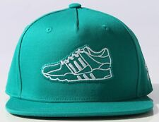 Adidas Originals EQT Cap baseball hat snap back flat brim mens green men's women
