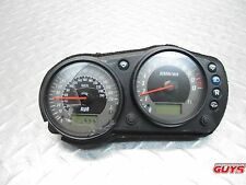 2006 05 06 KAWASAKI ZR750K ZR750 ZR 750 OEM GAUGES SPEEDOMETER GAUGES TACH