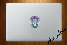 Macbook Air Pro Skin Sticker Decal Abstract Art Animal Lion Face CMAC061