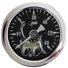 MOONEYES PRESSURE GAUGE 0-60 LBS  RAT HOT ROD CUSTOM MOTORCYCLES VW BUGGY