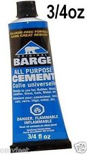 3/4 oz Barge All Purpose Cement Glue Adhesive Leather Rubber Wood Cork Glass