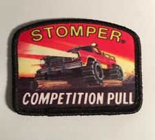 Vintage 1980's Stomper Competition Pull Patch