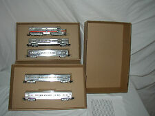 NEW ITEM AMERICAN FLYER  SILVER STREAK ENGINE AND PASSENGER SET BOX ( BOX ONLY).