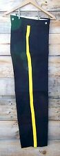 civil war navy blue trousers with 1 inch yellow stripe  48