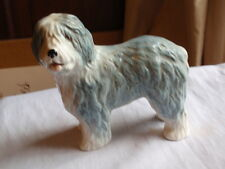 VINTAGE SYLVAC POTTERY DULUX OLD ENGLISH SHEEP DOG POTTERY FIGURINE