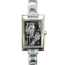 Humphrey Bogart Rectangular Italian Charm Watch