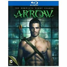 Arrow: The Complete First Season (Blu-ray Disc, 2014, 4-Disc Set) NEW