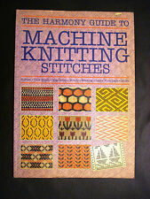 Vintage The Harmony Guide to Machine Knitting Stitches Patterns Book