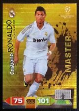 PANINI ADRENALYN CHAMPIONS LEAGUE 11-12. 'MASTER' CRISTIANO RONALDO REAL MADRID