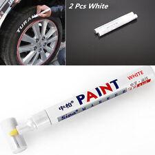 2x Mark White Marker Graffiti Pen Oil Paint Marker Sharpie Car Tyre Tire Wheel
