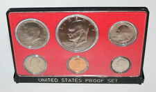 Rare 1973 6 Coin United States Mint Error Proof Set