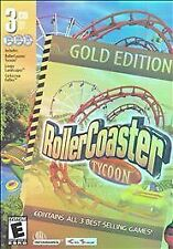 RollerCoaster Tycoon Gold Ed. w/Tycoon/Loopy Landscapes/Corkscrew Follies Retail