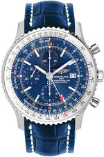 A2432212/C651-747P | BREITLING NAVITIMER WORLD | NEW & AUTHENTIC GMT MENS WATCH