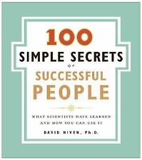 The 100 Simple Secrets of Successful People MAKE $ FREE SHIP!