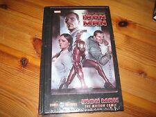 Ironman Extremis HC Novel with DVD for motion comic