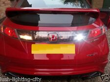 HONDA CIVIC LED REVERSE LIGHT CREE LED + 8 LED CANBUS ERROR FREE XENON WHITE