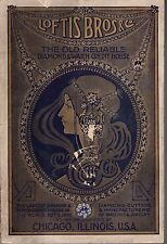 1911 Loftis Bros Jewelry & watch Catalog-pens, pocket, Masonic, diamonds 100 pgs