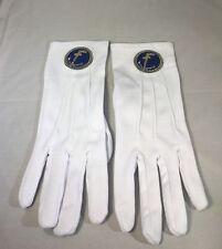 Mason Masonic Tubal Cain Gloves-New!