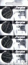 4 New ENERGIZER CR2016  CR 2016 Lithium 3v Coin Battery AUSSIE Stock FAST POST