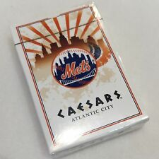 New York Mets 1973 Caesars Atlantic City Collectible Playing Cards -New! Sealed!