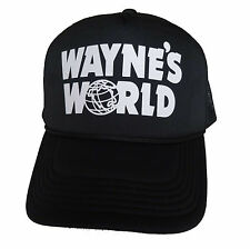 Wayne's World Trucker Hat Waynes Halloween Costume snapback Mesh Caps adjustable