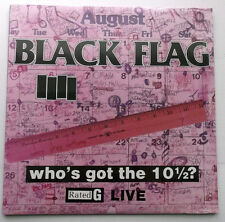 Black Flag - Who's Got The 10 1/2? (Live) LP Record - Brand New