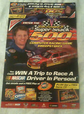 Dale Earnhardt Jr.- Nabisco Store Display Poster - #8 Oreo/Ritz Monte Carlo