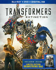 Transformers 1, 2, 3 & 4  Age of Extinction 4 Movies Blu-ray Collection
