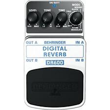 Behringer DR600 Reverb Guitar Effect Pedal