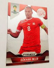 carte  football Prism Fifa world cup Brazil 2014 N*184 Switzerland Panini card