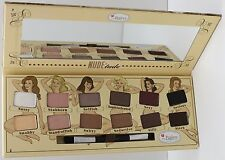 THE BALM COSMETICS NUDE'TUDE 12-COLOUR EYESHADOW PALETTE 11.08g NEW IN BOX!