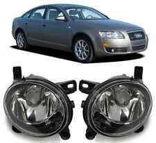 New Pair OEM Front Bumper Grille Fog Light Lamp FOR AUDI 2005-2008 A6 S6 C6 S8