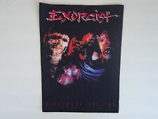 EXORCIST NIGHTMARE THEATRE SUBLIMATED BACK PATCH