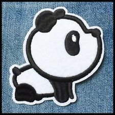 Ecusson patch panda kawai thermocollant (Aufnäher toppa parche iron-on)