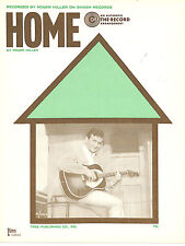 ROGER MILLER  Home  sheet music songsheet