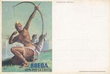 C1215) BREDA, ARMI DA CACCIA, AL VERSO FUCILE AUTOMATICO. ILLUSTR. BOCCASILE.