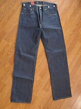 LEVIS VINTAGE CLOTHING 1933 501 Rigid JEANS 3350101190 33x34 Made In USA NWT
