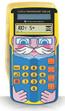 Texas Instruments Little Professor Solar Mathe Lernrechner NEU OVP TI
