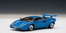LAMBORGHINI COUNTACH 5000 S BLUE WITH OPENINGS 1/43 AUTOART 54534