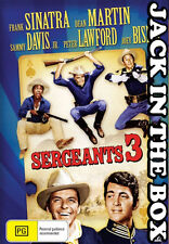 Sergeants 3 DVD NEW, FREE POSTAGE WITHIN AUSTRALIA REGION ALL
