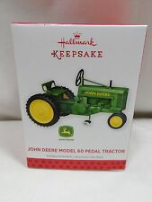 2013 Hallmark Keepsake Ornament John Deere Model 60 Pedal Tractor