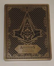 Assassins Creed Syndicate Limited Steelbook G2 - Mint Collectors NO GAME Gold