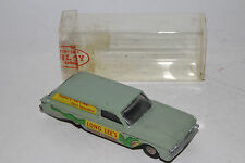 Hubley Real Toys, 1960 Ford Country Squire Sedan Delivery in Plastic Container