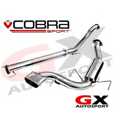 "VX71 Cobra Sport Vauxhall Astra H VXR 05-11 Cat Back Exhaust 2.5"" bore Non Res"