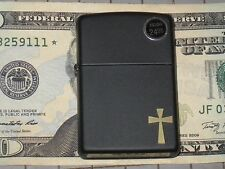 New ZIPPO USA LIGHTER CHRISTIAN CROSS JESUS Christ BLOOD COLORS GOD BIBLE Mary 1