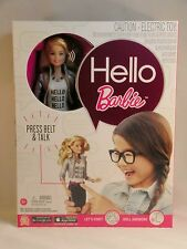 Mattel NEW Interactive Talking Hello Barbie Doll Blonde In Stock Ships Next Day