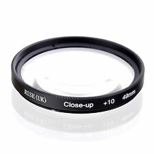 49mm Macro Close-up +10 Lens Filter For Sony NEX-C3 NEX5N A99 A77 with 18-55mm