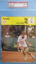 PSA 9 MINT 1977-79 SPORTSCASTER IVAN LENDL ROOKIE TENNIS CARD High Number 82-07
